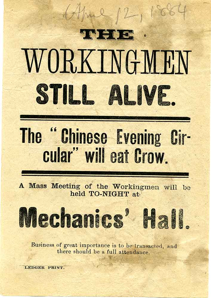 The workingmen still alive : the