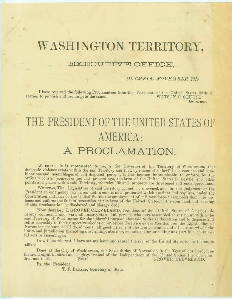 The president of the United States of America: a proclamation