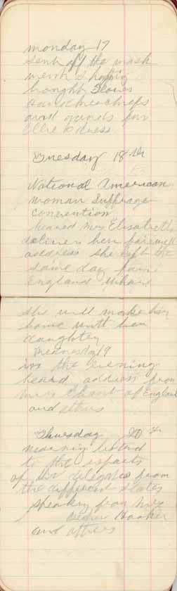 Eliza Jane Meeker Diary