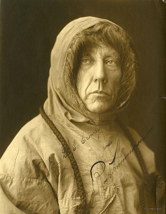 [Roald Amundsen, Portrait]