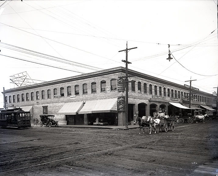 Elerath & Radford, Produce, 1007 Western Avenue, and Other Businesses, Seattle