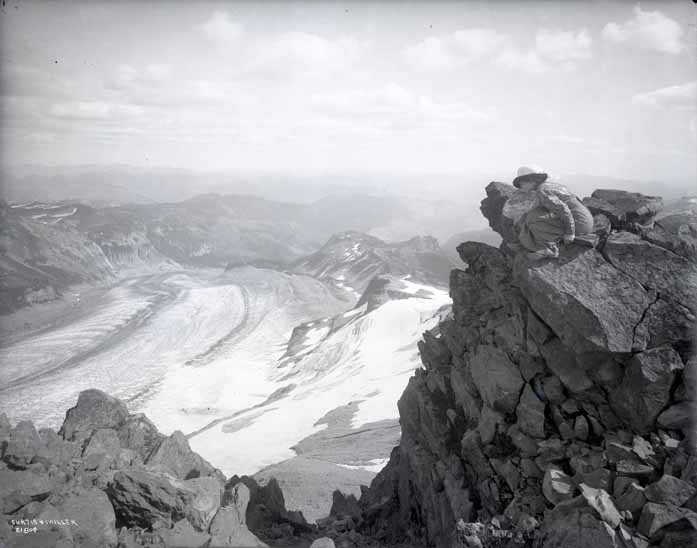 [View Overlooking the Cowlitz Glacier]