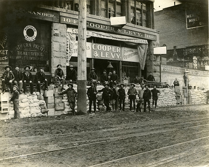 Cooper & Levy Outfitters, Seattle, 1897