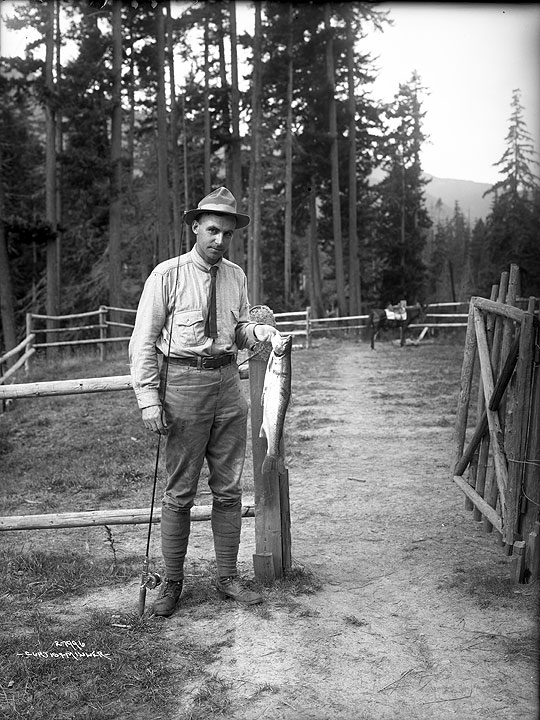 [Miller with Fish]