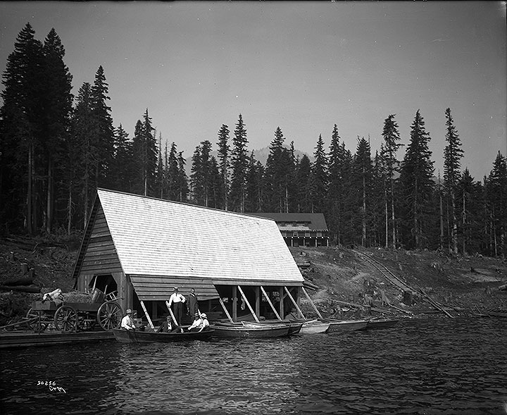 Boathouse, Kachess Lodge Co. [Lake Kachess]