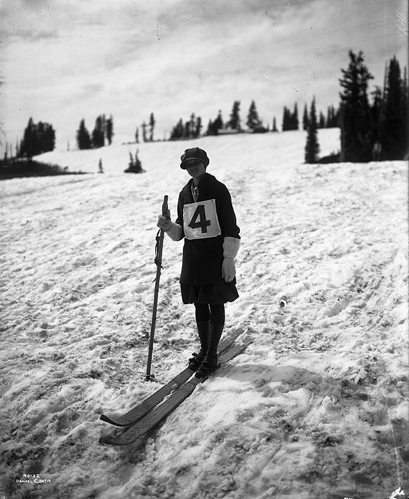 Ski Jumper - Mt. Rainier