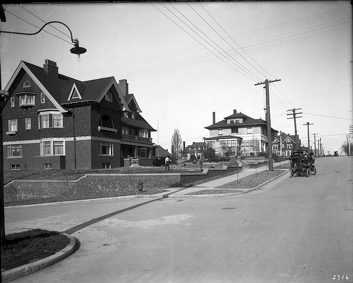 First Hill Residence District, Corner of Boren Avenue and University Street, Seattle