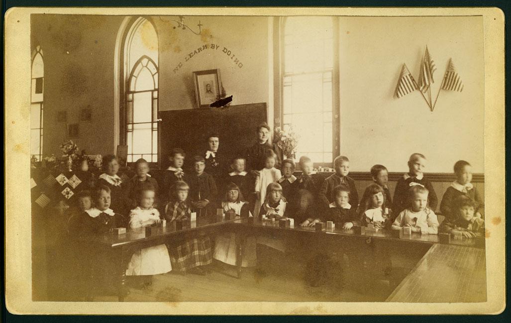 1890s Schoolroom