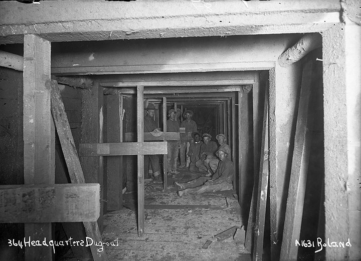 364 Headquarters Dug-out [Camp Lewis, Pierce County]