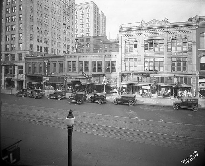 Pacific Avenue, April 14, 1925