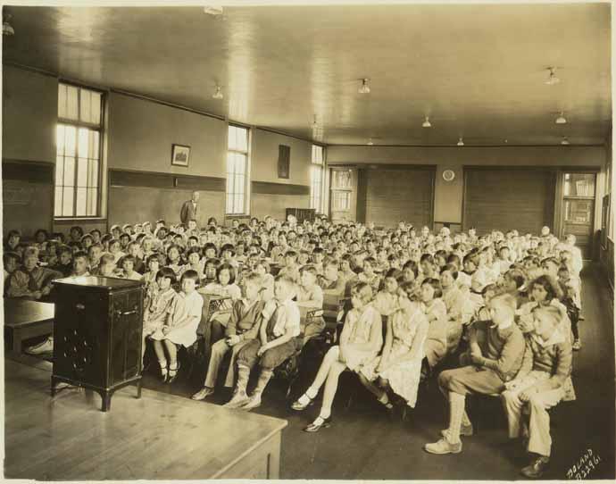 [Central School, Radio Program Assembly]