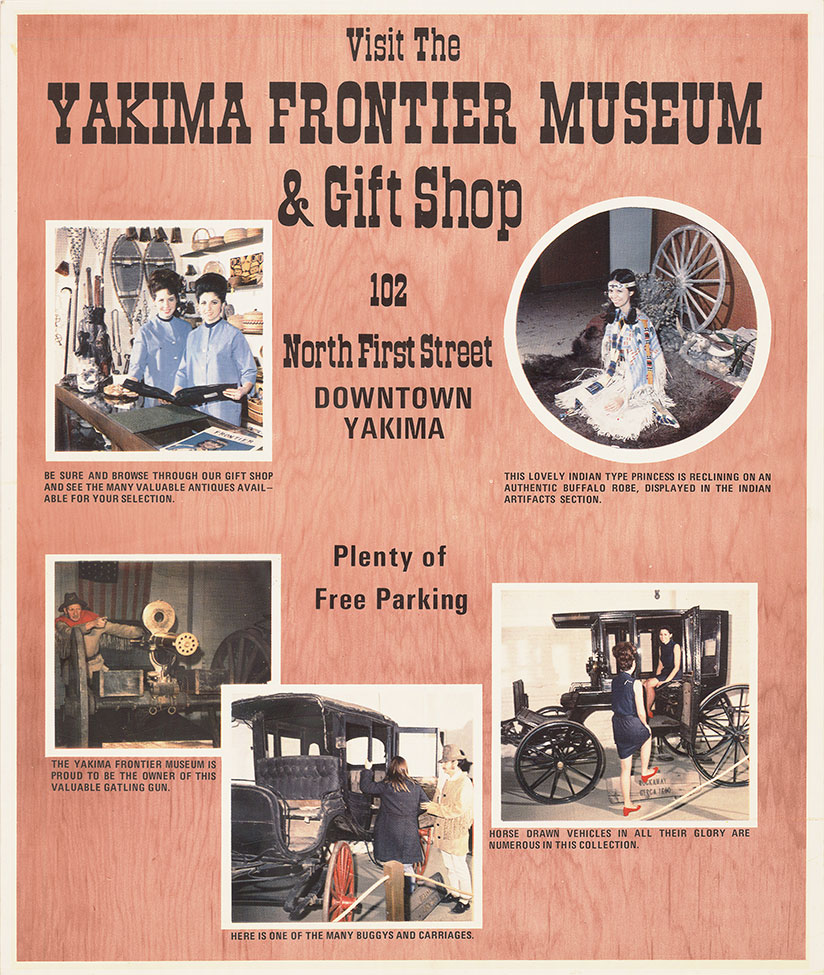 Visit the Yakima Frontier Museum & Gift Shop