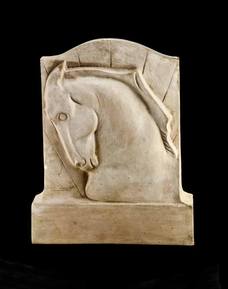 [horsehead plaque]
