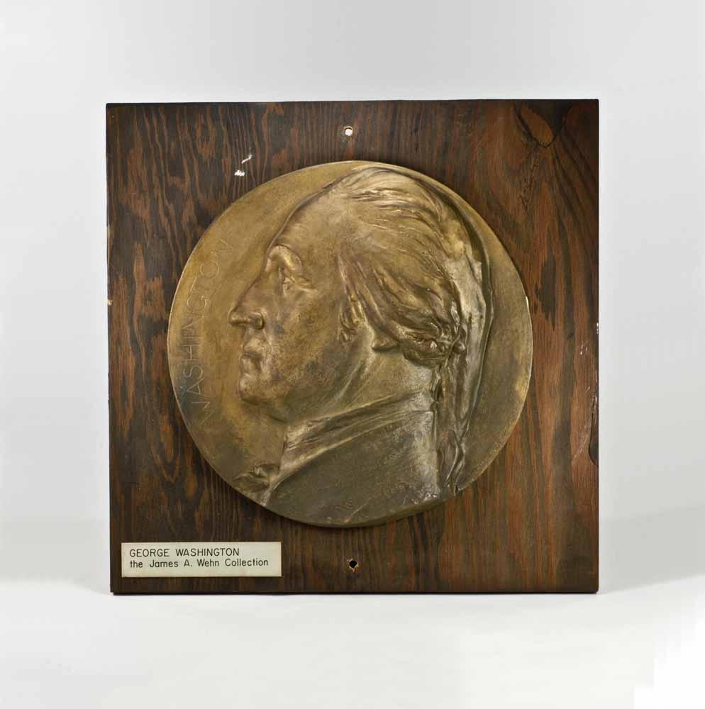 George Washington [plaque]