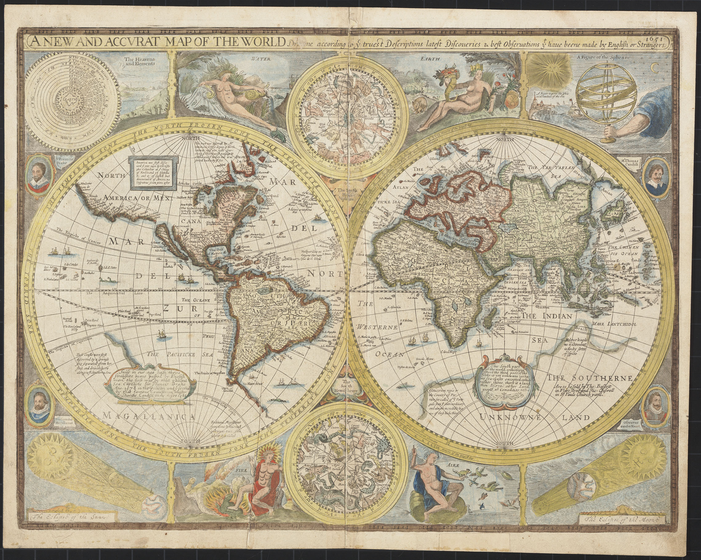 'A New and Accurat Map of the World.'