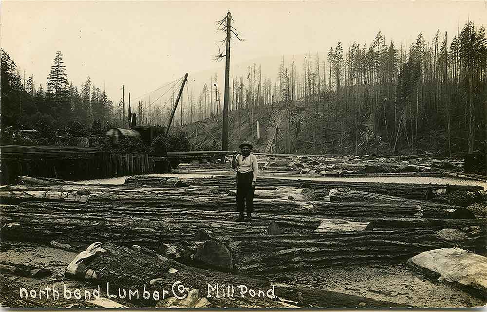 North Bend Lumber Company Mill Pond