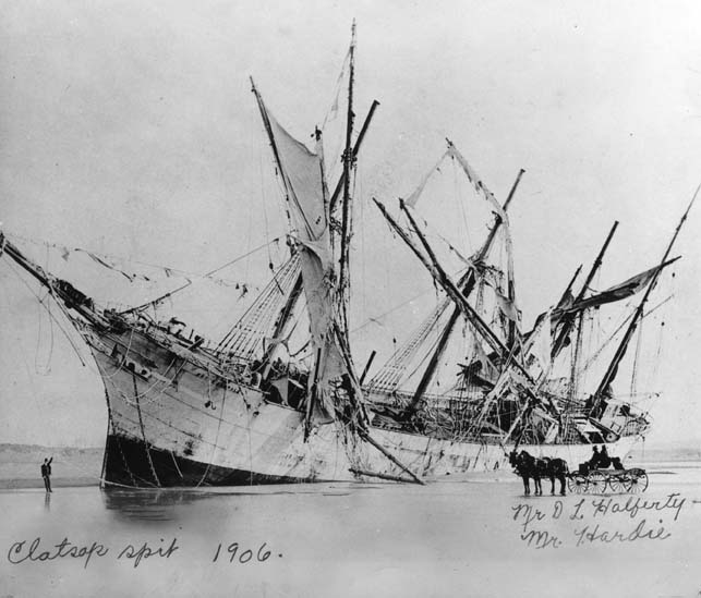 [Shipwreck of Peter  Iredale on Clatsop Spit]