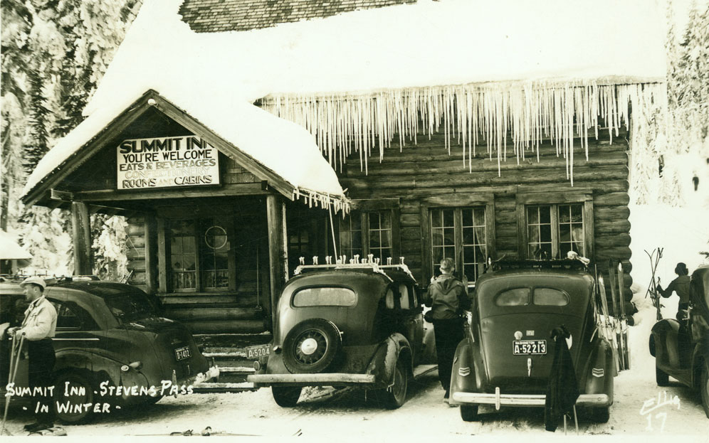 Summit Inn - Stevens Pass - In Winter