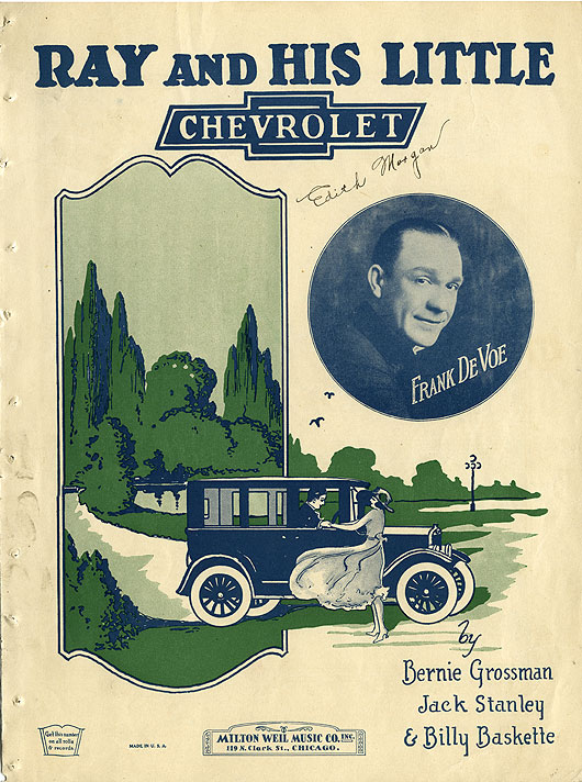 Ray and his little Chevrolet