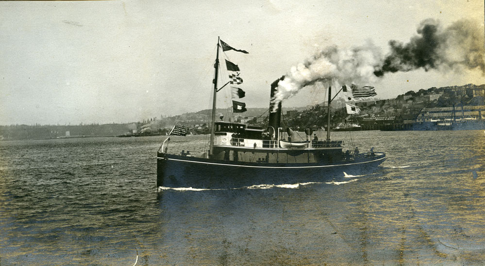 [Tugboat on Puget Sound]