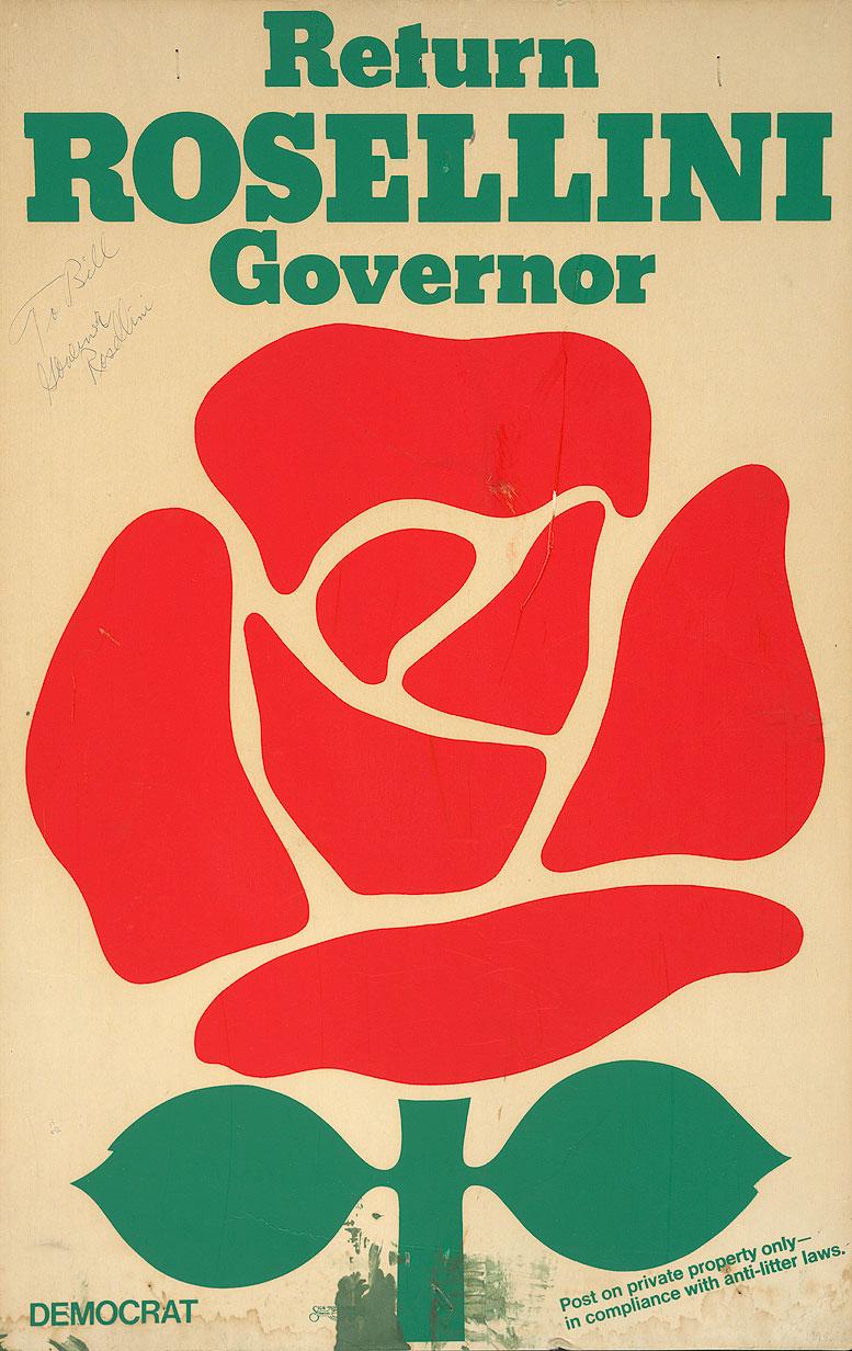 Return Rosellini governor : Democrat