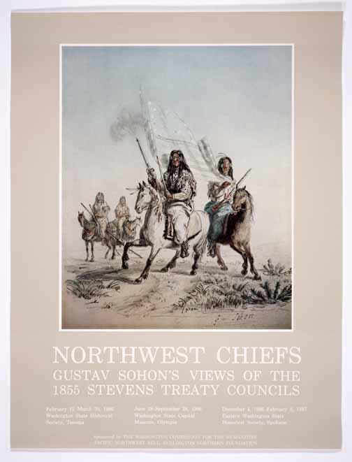 Northwest chiefs:  Gustav Sohon's views of the 1855 Stevens treaty councils