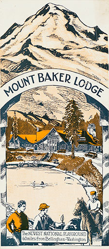Mount Baker Lodge, the newest national playground
