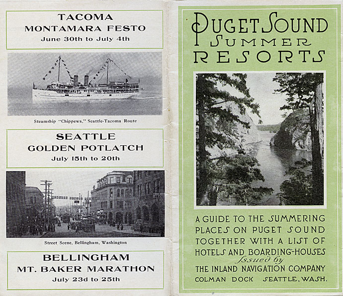 Puget Sound summer resorts