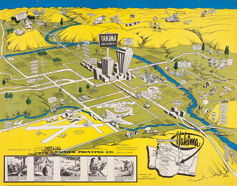 The fruit bowl of the nation, Yakima