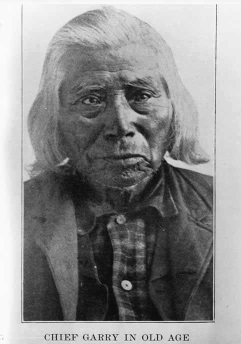 Chief Garry in old age