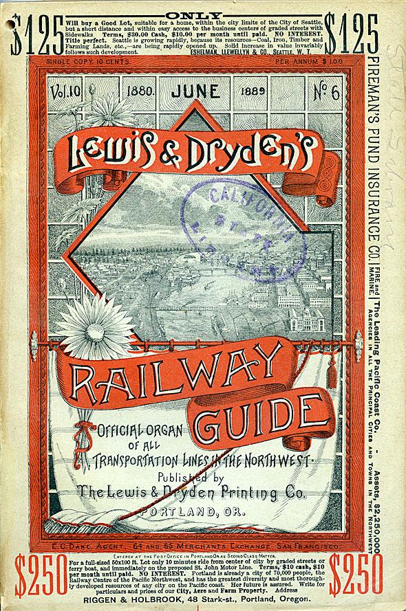 Lewis & Dryden's railway guide