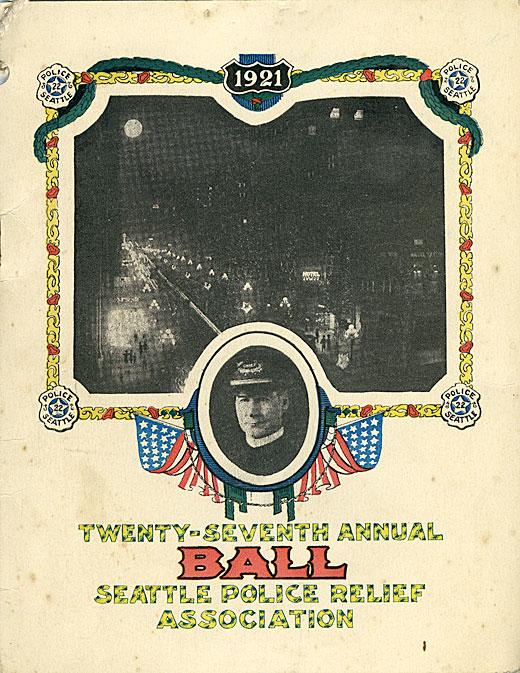 Twenty-seventh annual ball, Seattle Police Relief Association