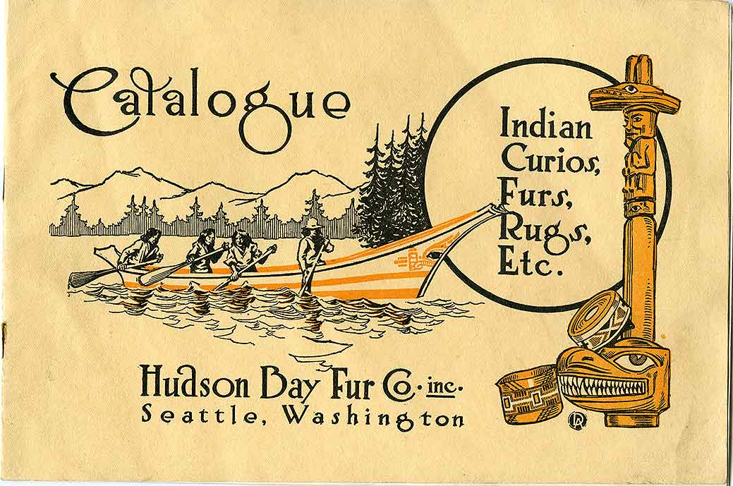 Catalogue: Indian curios, furs, rugs, etc.