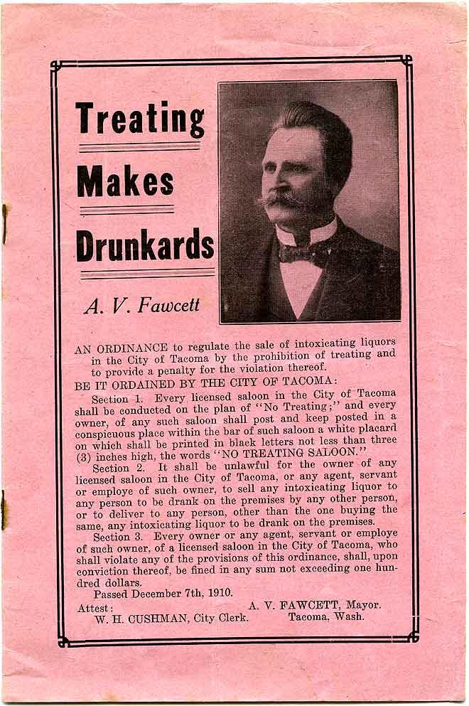 Treating makes drunkards