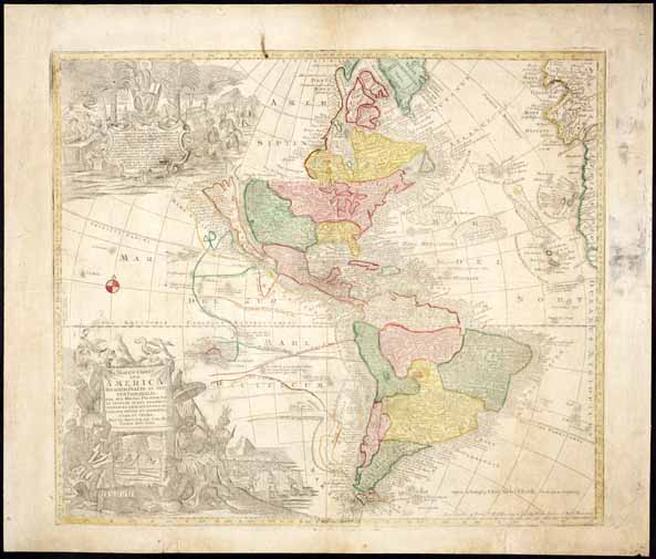 Novus Orbis Sive America Meridionalis et Septentrionalis ....