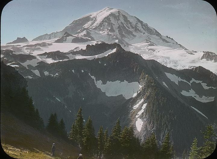 Mt. Tacoma from Fay Peak (Spray Park Region)