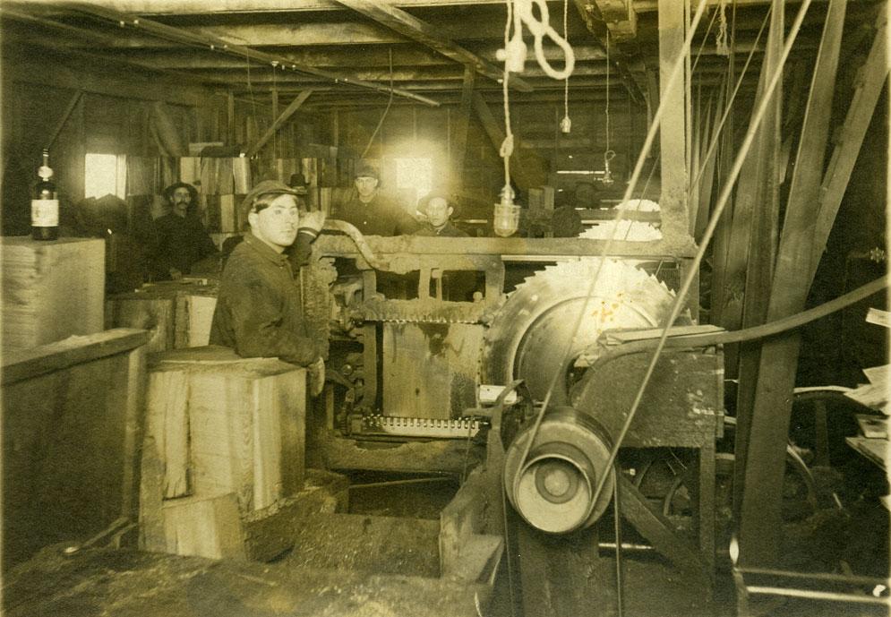 [Shingle weavers at Kerry Lumber Company, Kerriston, WA]