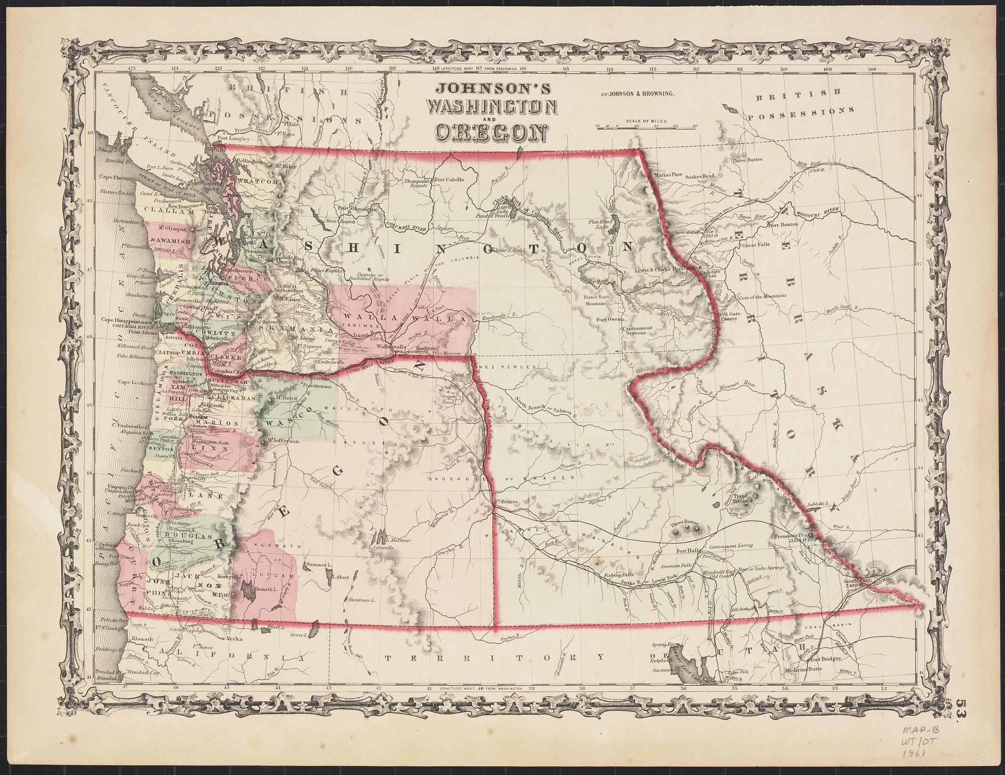 Johnson's Washington and Oregon