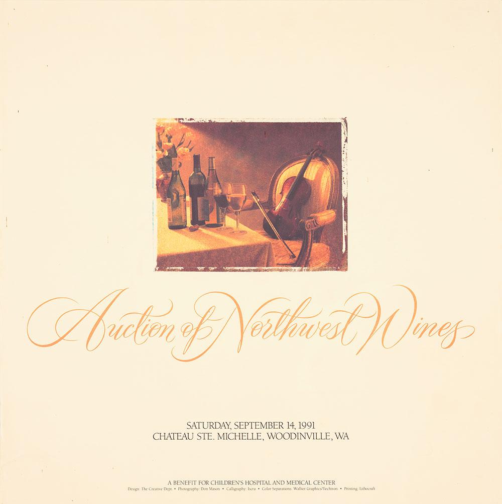 Auction of Northwest Wines