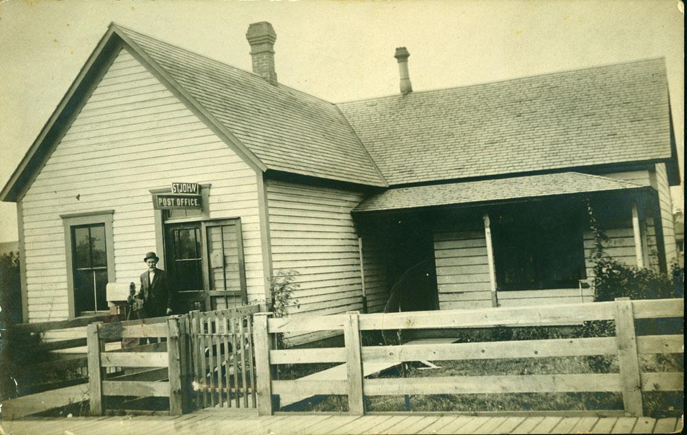 St. John, WA post office