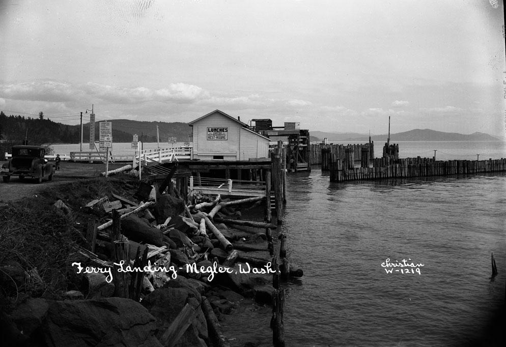Ferry Landing-Megler, Wash.