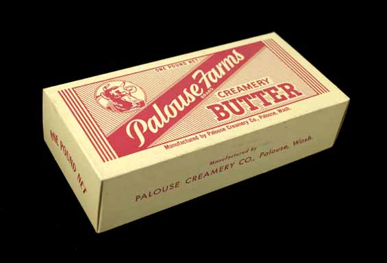 [product box for Palouse Farms creamery butter]