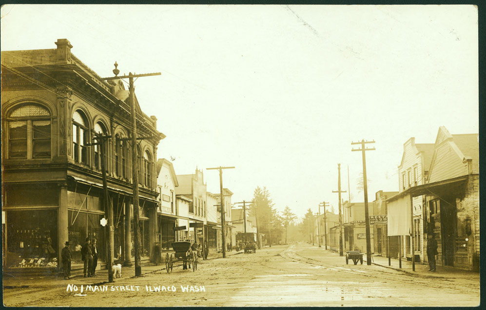 Main Street - Ilwaco, Wash.