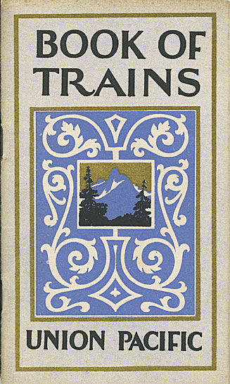 Book of trains: fast luxurious passenger service to and from the West