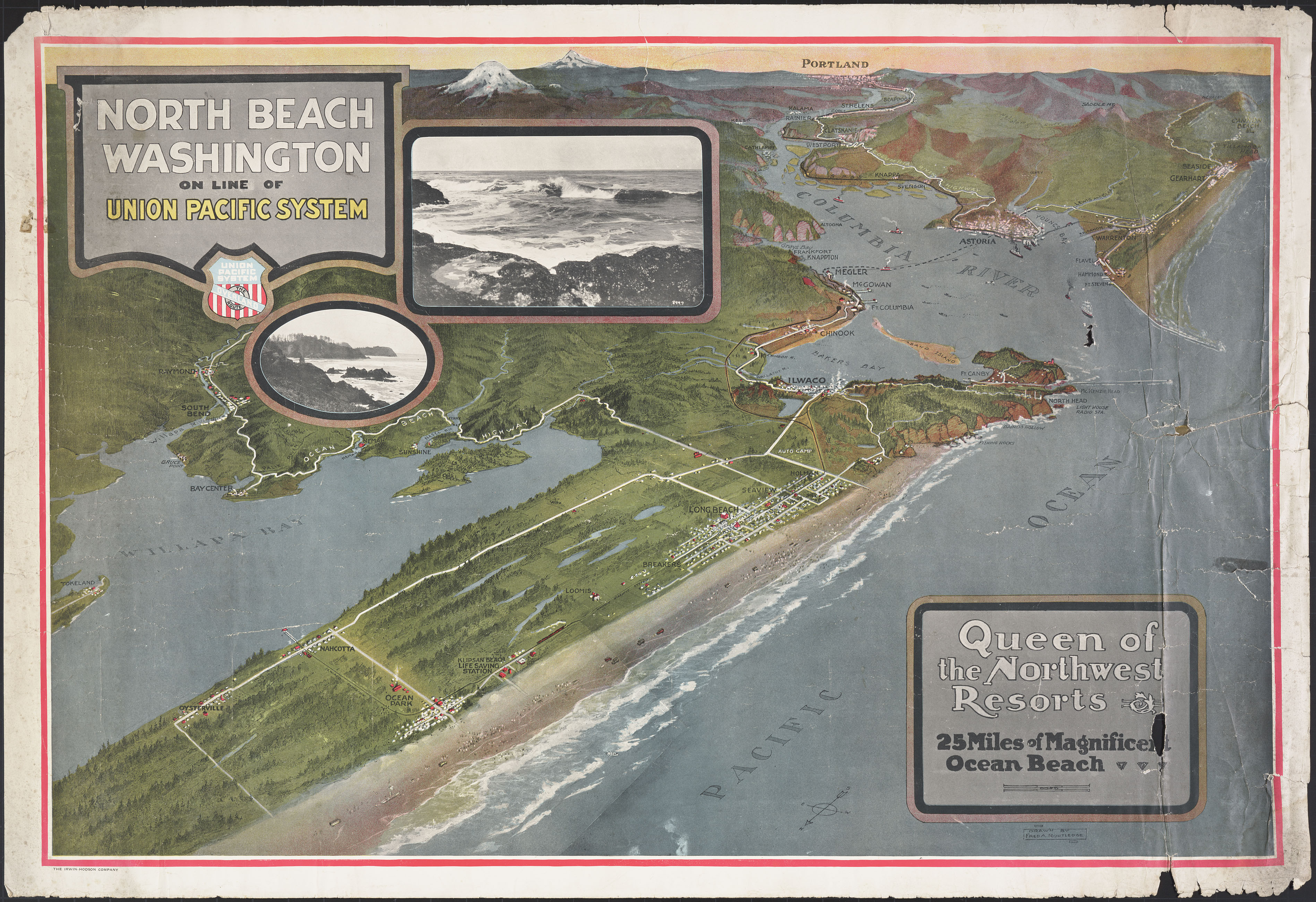 North Beach Washington on the line of the Union Pacific System:  Queen of the Northwest Resorts