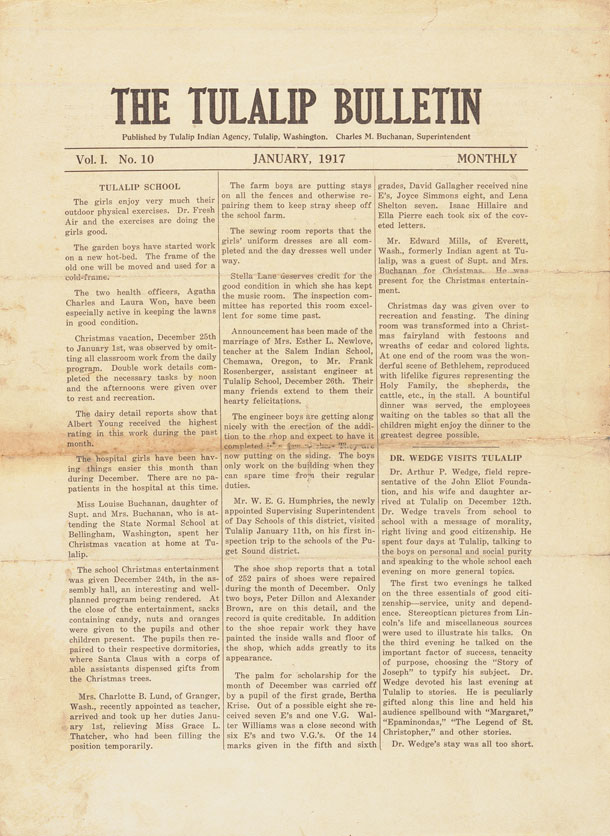 The Tulalip Bulletin