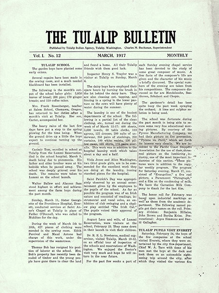 The Tulalip Bulletin