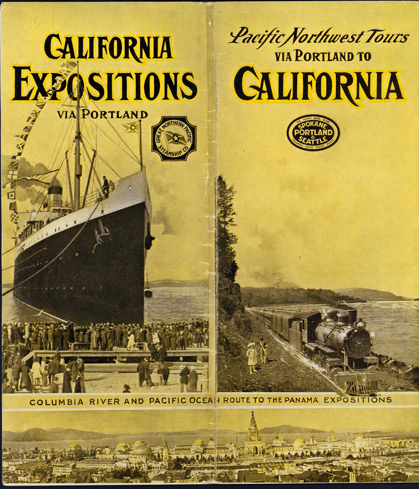 Pacific north tours via Portland to California : Columbia River and Pacific Ocean route to the Panama Exposition
