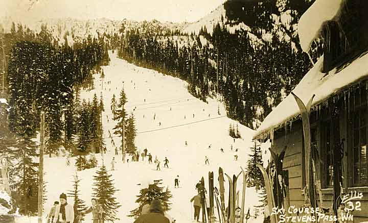 Ski Course, Stevens Pass, Wn.
