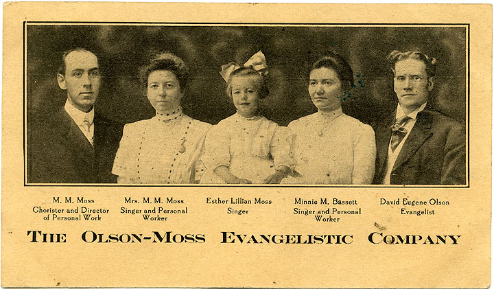 The Olson-Moss Evangelistic Company